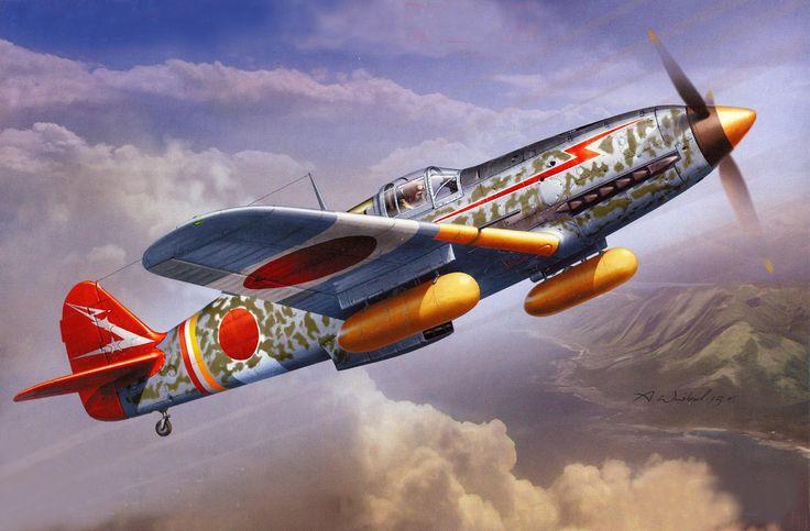 Kawasaki Ki-61-I Hei Type 3 Fighter Hien 'Tony' by ...