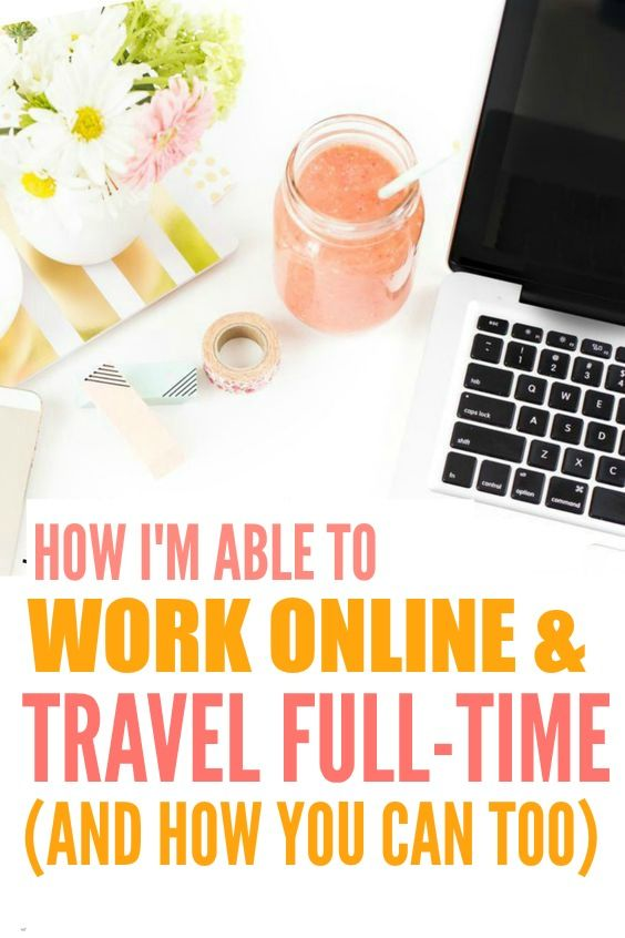 How she was able to work online and travel full time is THE BEST! I'm so glad I found these AMAZING tips! Now I can show other people this strategy to start working from home.. or anywhere! Definitely pinning for later!