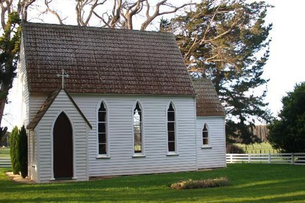 The Chapel at Chapelwick, in Central Hawke's Bay. A dreamy spot for a wedding!