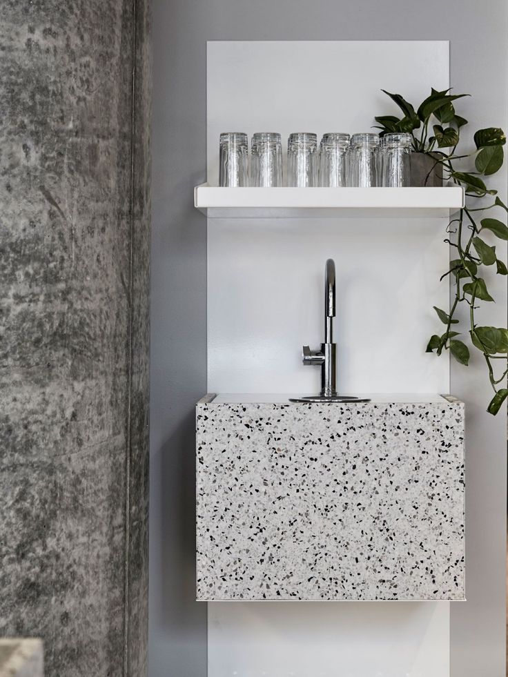 Image result for terrazzo sink hospitality