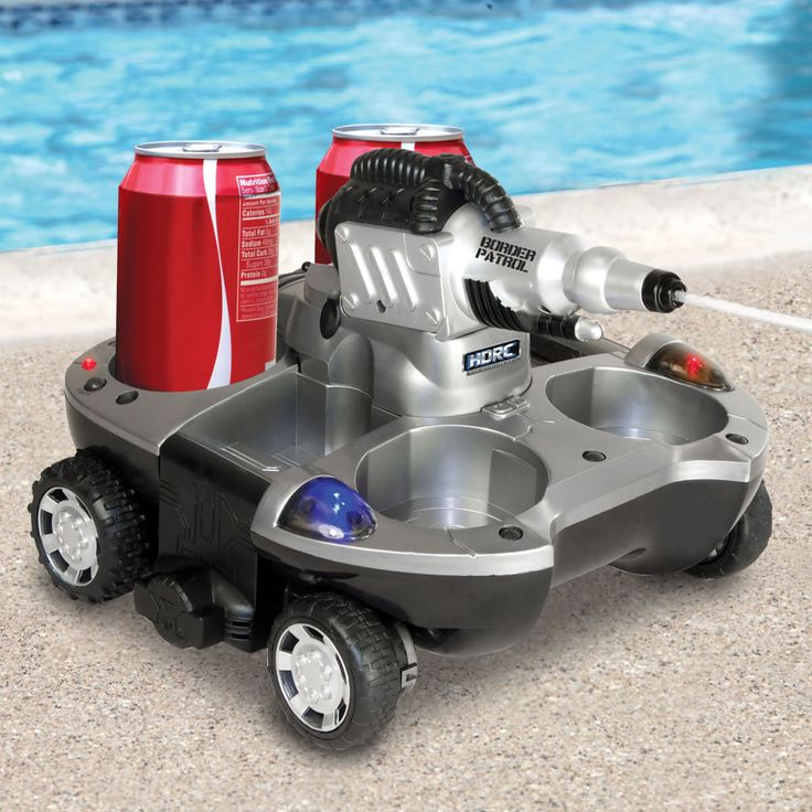 The Remote Controlled Armored Drink Carrier – Hammacher Schlemmer