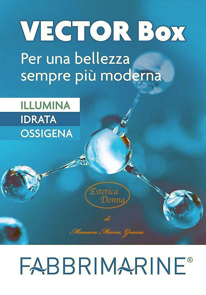 Novita Fabbrimarine La Cosmetica Marina Vector Box Cosmetici Idratante Estetica