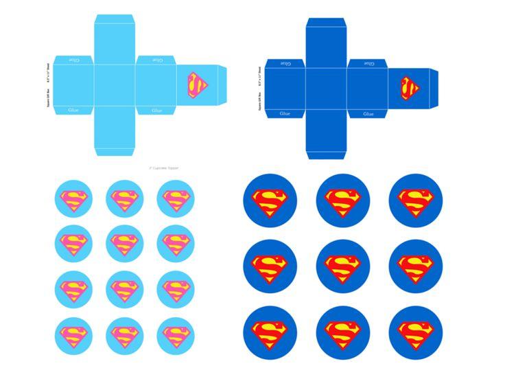 Free Supergirl Superman Printables | Magical Printable