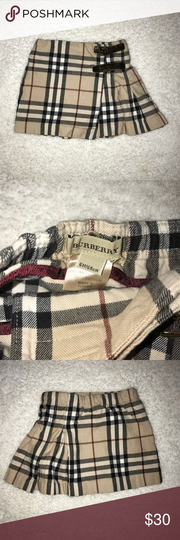 Baby Burberry Skirt Size 6 months 100% cotton Burberry Bottoms Skirts