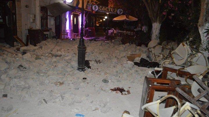 Προσωρινά μη κατοικήσιμα 141 σπίτια λόγω του σεισμού στην Κω