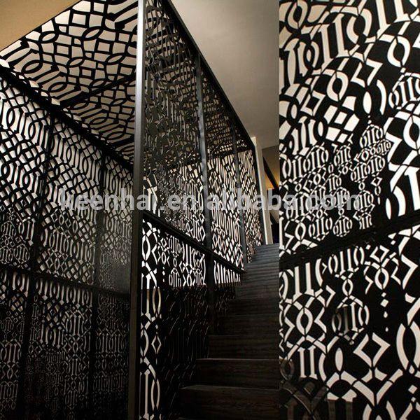 Outdoor corte laser tallado decorativo panel de falso techo de aluminio perforado-en Azulejos de techo de Techos en m.spanish.alibaba.com.
