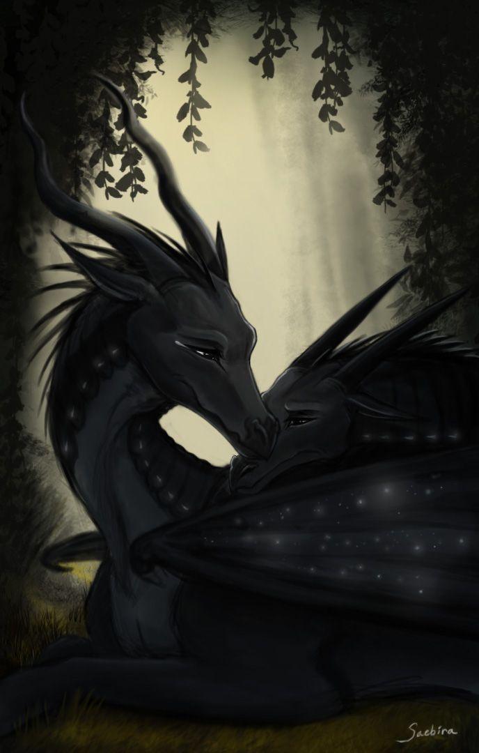 Lonely by Saebira on Deviant Art Digital Art / Drawings & Paintings / Fantasy©2016 Saebira #darkstalker #dragon #myth