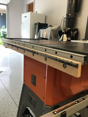 Ridgid R4512 Tablesaw Outfeed Table By Mikemccind Lumberjocks Woodworking Community