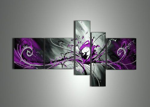 Design Art Pink And Purple Ribbons Canvas Wall Art Walmart Canada