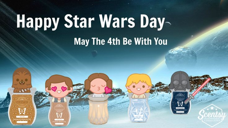Happy Star Wars Day from your Independent Scentsy
