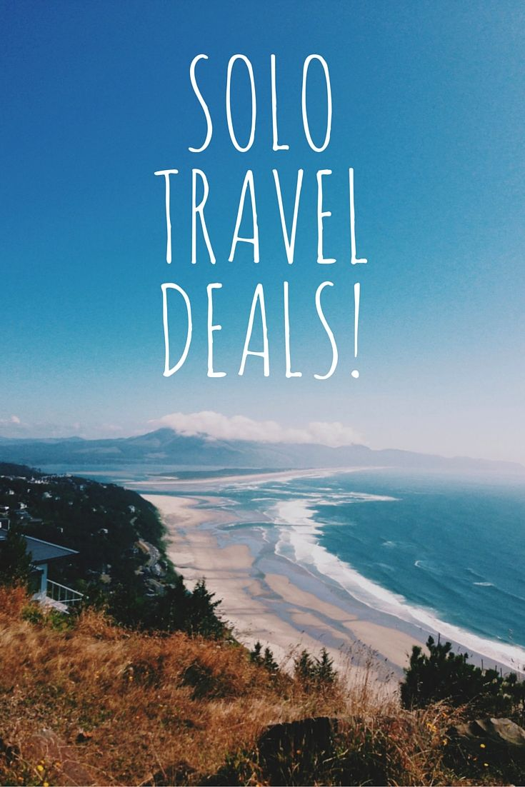 The Solo Travel Deals page on Solo Traveler. http://solotravelerblog.com/solo-travel-deals/
