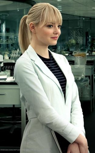Gwen Stacy Lab outfit