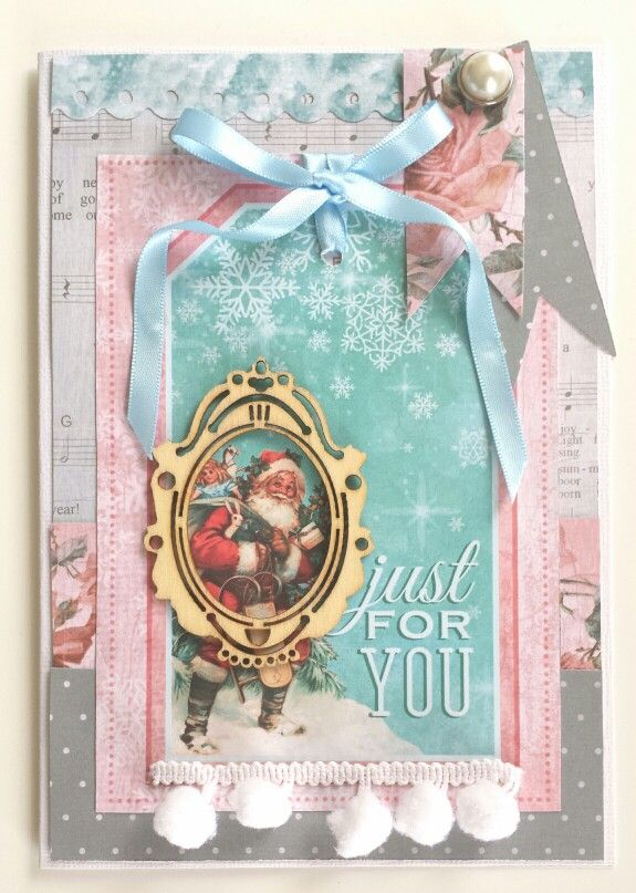 Kaisercraft : Silver Bells Collection : DT finalist entry 2015 / 16 : Xmas Card by Amanda Baldwin