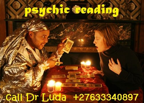 professional psychic reader and Astrologer spell caster +27633340897  Get your reading on any matter which happens to be troubling you, your life or even concerning your loved ones.   My services are offered at the Healing Temple and online worldwide , I also offer services as candle settings for any specific problems, personalized mojo bags, oils, powders and many other conjuring aid to help you gain, achieve and be successful in life.I have helped many people about their valuable lives