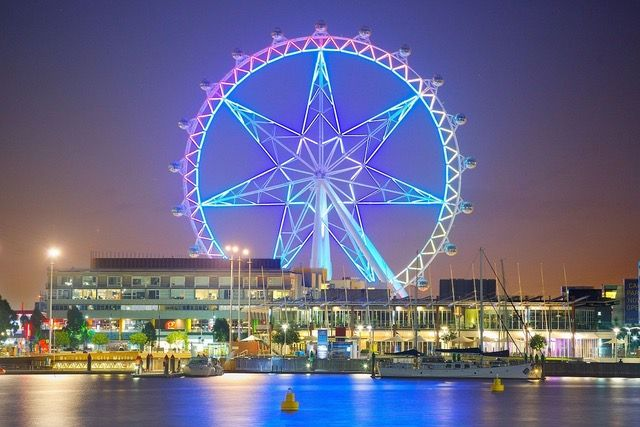 The Melbourne Star is a giant Ferris wheel in the Waterfront City precinct in the Docklands area of Melbourne, the state capital of Victoria, Australia.