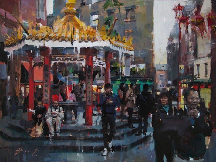 Market Pagoda - Christian Hook