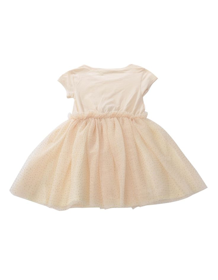 Eleven Paris Cream Closs Netted Dress | Accent Clothing