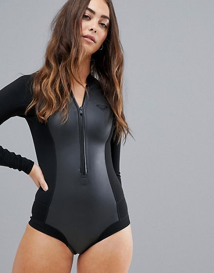 e88de0e43fcc ... one-piece bathing suits, and cover ups. Roxy Satin Cheeky long sleeve  neoprene wetsuit