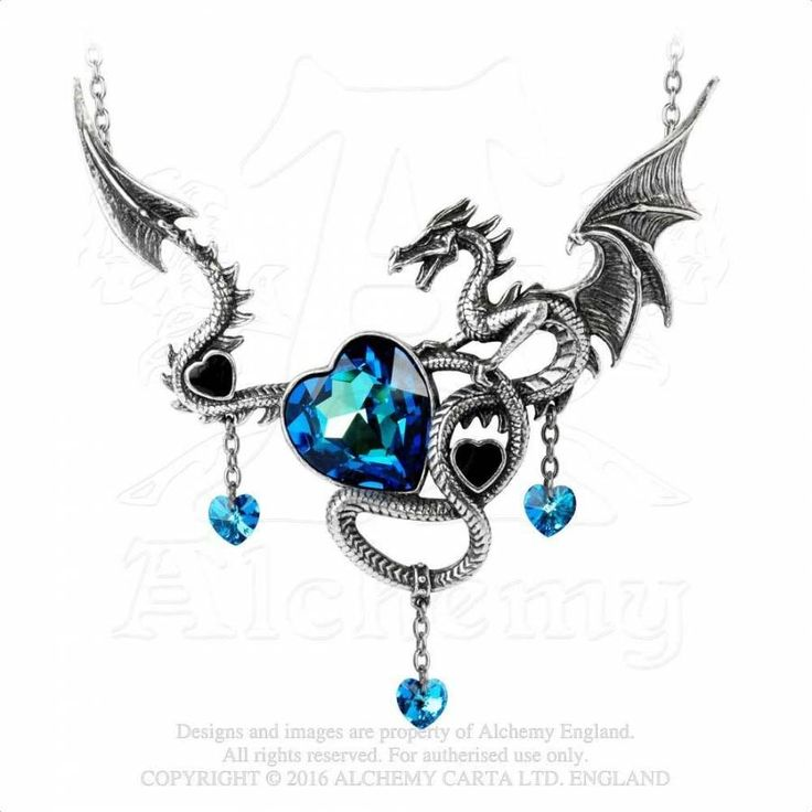 Bijou dragon boutique Alchemy Gothic Draig O Gariad
