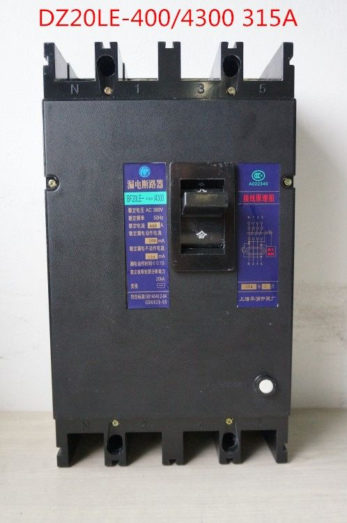 67.05$  Buy now - Three phase four wire earth leakage circuit breaker DZ20LE-400/4300 4P/315A  #buymethat