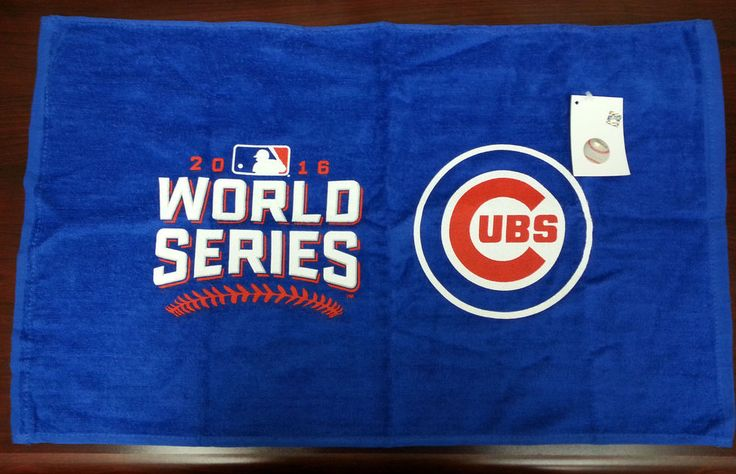 Chicago Cubs World Series 2016 Rally Swag Towel Blue MLB 24 by15 Inches Cotton #ChicagoCubs