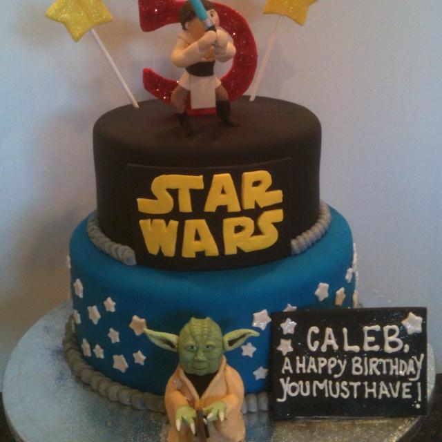 Star Wars Cake Jedi