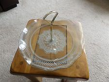 CHANCE GLASS CAKE STAND STUNNING
