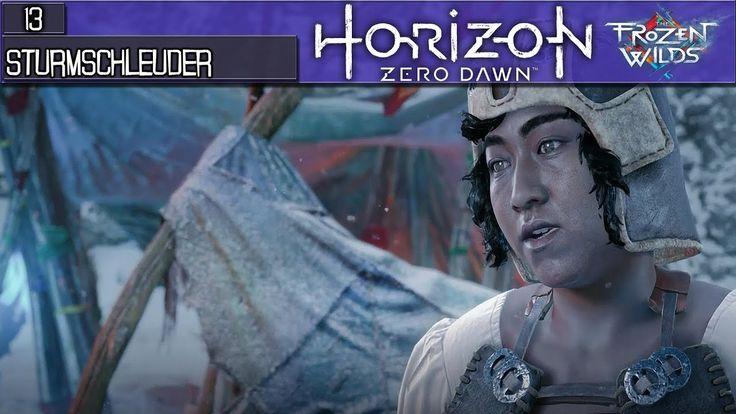 HORIZON ZERO DAWN FROZEN WILDS Deutsch  ( Verbesserte Sturmschleuder ) ...