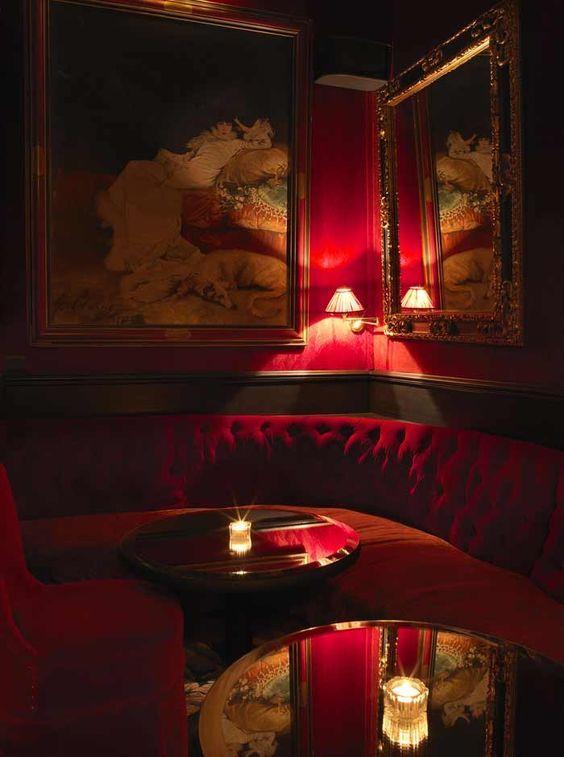 Décorations En Rouge Pour Salon