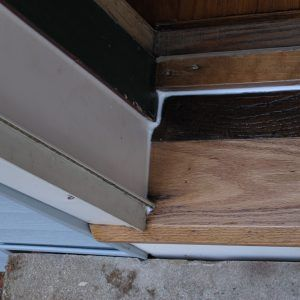 Wood Exterior Door Threshold