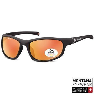 Γυαλιά Ηλίου Biker Montana Polarized Platinum SP310-ORANGE-e-chap