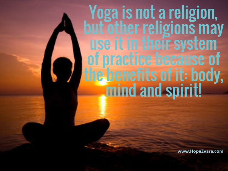 Yoga – Is It a Religion? (Part 2)