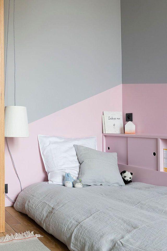 15 combinaciones de colores para pintar una habitaci n - Pintar pared dormitorio ...
