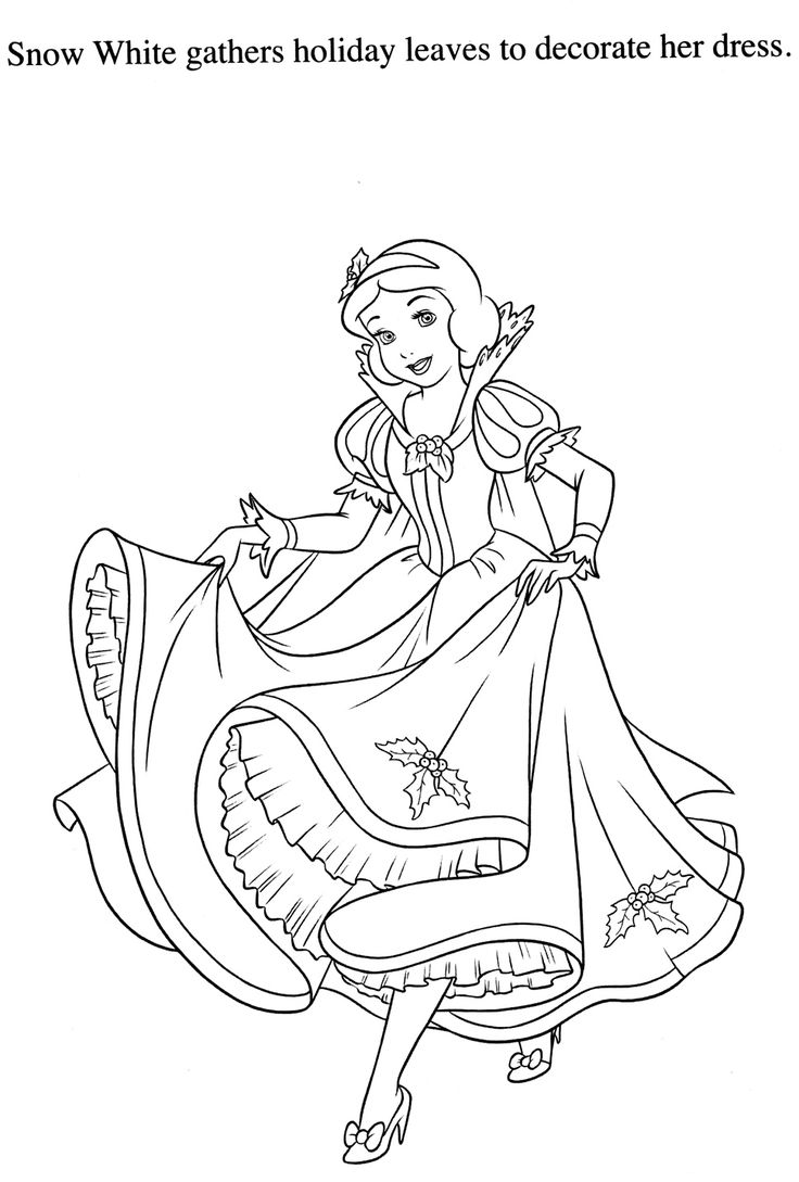 163 best Disney Snow White Coloring Pages Disney images on Pinterest ...