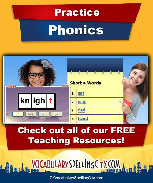 Phonics is a way of teaching students how to read and write by focusing on the relationships between letters and the sounds in words.
