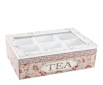 Caja de madera para infusiones flores proyecto - Cajas para cocina ...