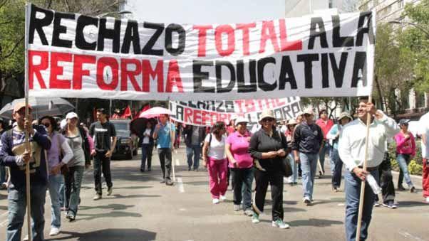 CNTE anuncia entrega de balance sobre lucha contra reforma educativa