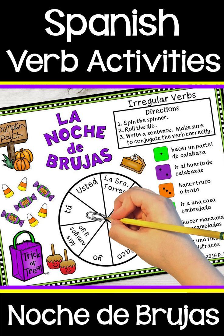 Spanish Halloween Activities in 2020 Halloween