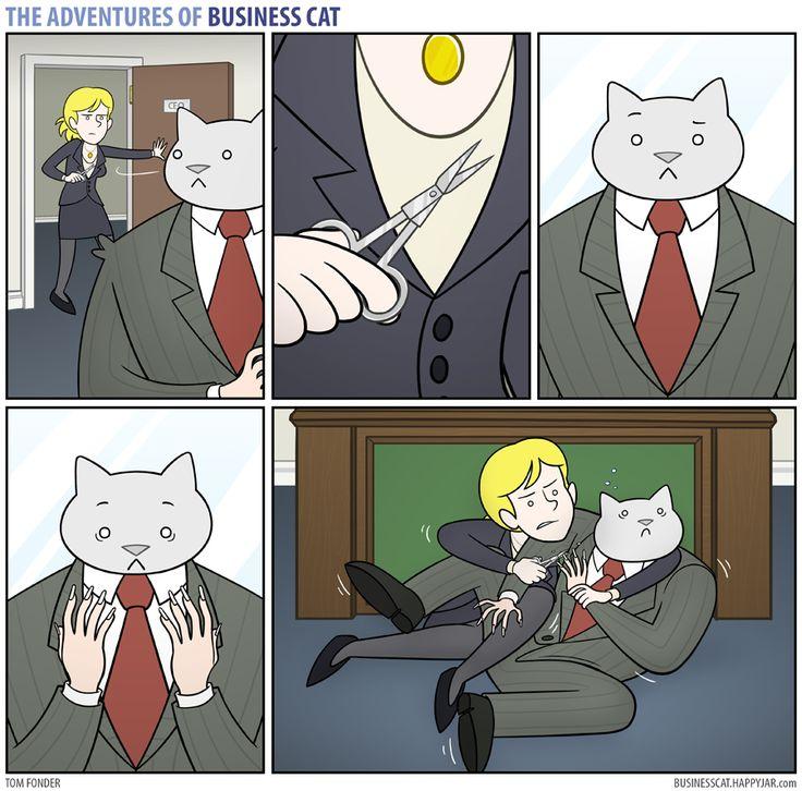 The Adventures of Business Cat | Trim