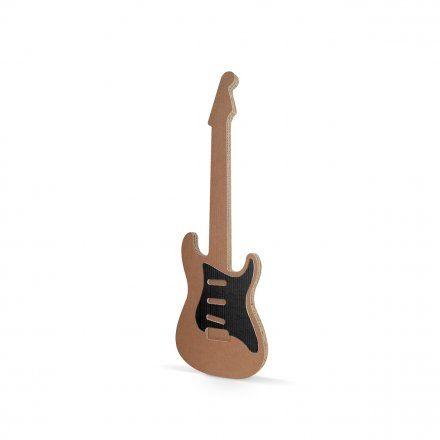 #Cardboard Guitar toy. Designed for kids, light and colorful guitars. Carton Factory #Cardboard #guitar. #designforkids