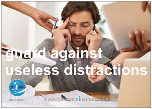 Guard against useless #distractions
