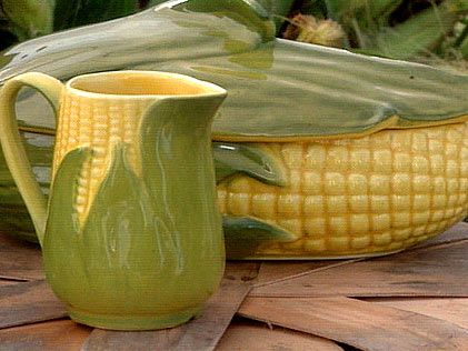 Shawnee Corn King pottery--just like Mamaw's