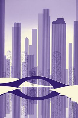 eyvind earle--central park