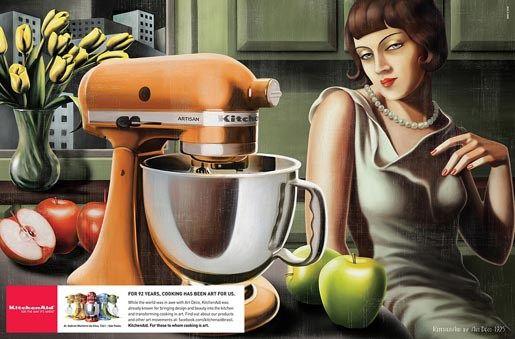 Kitchen Aid Art Deco