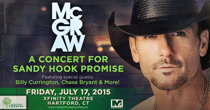 Sandy Hook Promise...thank you Tim McGraw.