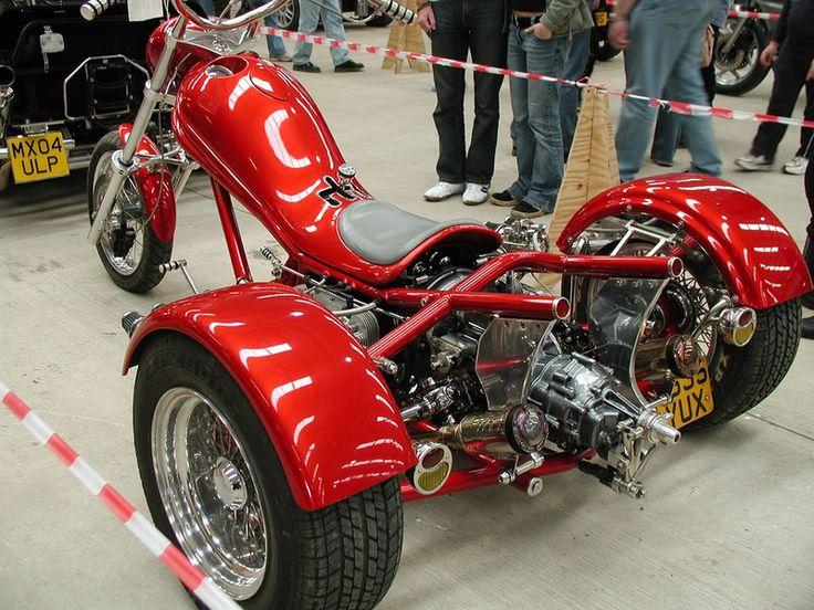 Mid-Engine VW Trike Motorcycle