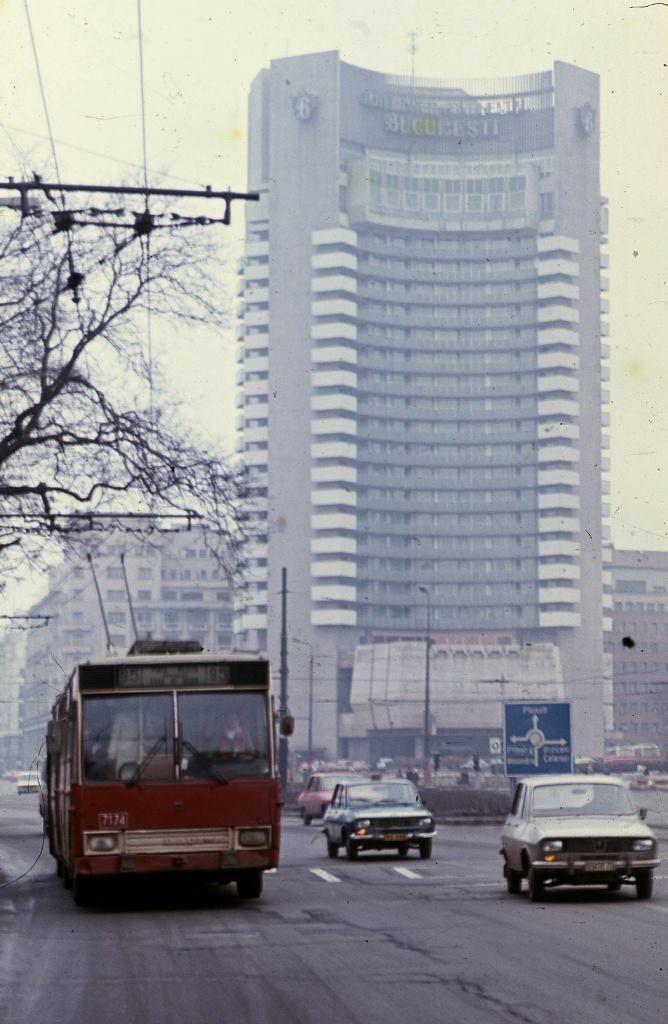 Un București gri, în anul 1986
