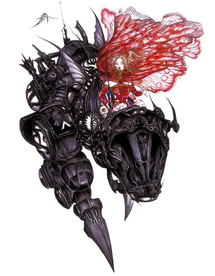 Terra & Magitek Armor - Pictures & Characters Art - Final Fantasy VI