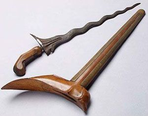 Kris - Traditional Javanese Weapon | #Beautiful Indonesian #Culture