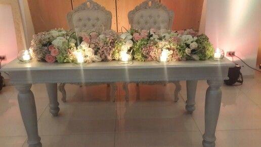 Mesa para novios estilo vintage g 39 santos deco - Estilo vintage decoracion ...